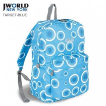 J World - Mochila De Costas - J W -10 Target Blue