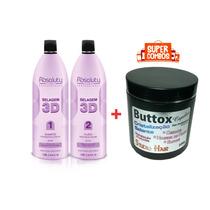 Selagem 3d Absoluty Color Cabelo 100% Liso + Botox Capilar