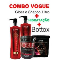 Promoção Combo Vogue Definitiva Gloss+ Hidratação + Vogotox