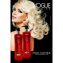 Kit Vogue Definitiv Liso Real Gloss + Shampoo + Brinde
