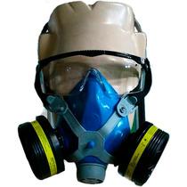 Máscara Respirador Semifacial P/ Veneno \pintura \ Orgânicos