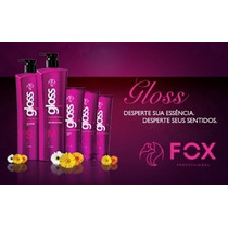 Fox Gloss - Escova Progressiva,semi - Definitiva + Brinde