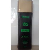 Escova Inteligente De Quiabo Mousse Plastica Dolce Hair 1 Lt