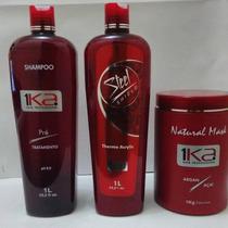 Escova Semi Definitiva Orgânica 1ka Professional Hair