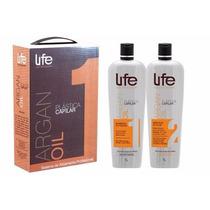 Kit Progressiva Life Hair Professional Argan Oil Ft Grátis