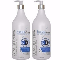 Forever Liss Escova Semi Definitiva Power 3d System 2x1l