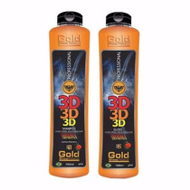 Escova Definitiva 3d Gold Show Premium 2x1000ml