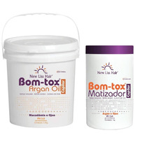 Bom-tox B-tox Argan S/formol New Liss 3,5kg +botox Matizador