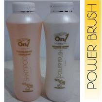 Selagem Termica On1 Power Brush Com Shampoo Kit 1 Litro