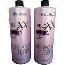 Veloxx Natumaxx Escova Progressiva Selagem Alinhamento