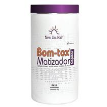 New Liss Selagem Bott-ox Matizador Em Massa 1kg Platinador
