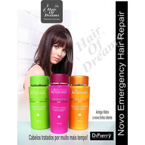 Di Pierry Pos Progressiva - Shampoo Condicionador E Leave-in
