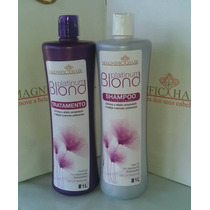 Escova Progressiva Blond Magnific Hair