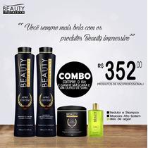 Combo Beauty Impressive Afro System + Óleo De 50 Ml Grátis
