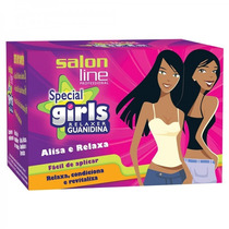 Kit Salon Line Guanidina Special Girls Alisa E Relaxa 218g