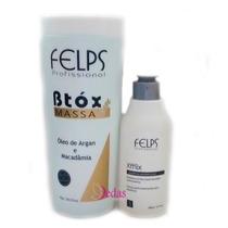Felps Botox Em Massa 1kg + Shampoo Antirresíduo + Frete