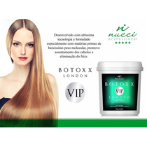 Botoxx Capilar Vip London Profissional Nucci 1k Zero Formol