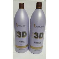 Kit Selagem E Botox A Sun Gold 3d Lisieux De 1500ml