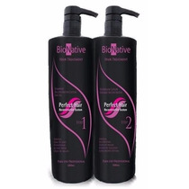 Kit Blindagem Selagem Plástica Fios Bionative Perfect Hair