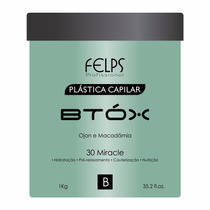 Felps Btt-ox Capilar Ojon E Macadâmia - 1000g + Brinde