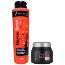 Cristalização Progressiva+ Máscara Max Lama Negra-vitaflayne