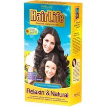 Creme Relaxamento Hair Life- Seus Cachos Soltos E Com Balanç
