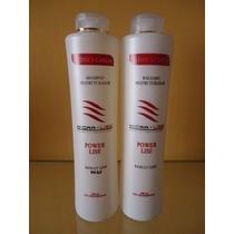 Plastica Dos Fios Hidralise Selagem Termica 100% Liso Brinde