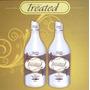 Treated Hair Selagem Térmica Tratamento Capilar 100% Liso