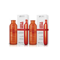 Ybera Luzes & Mechas Kit Shampoo E Condicionador Matizador