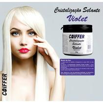 Cristalização Selante Violet Coiffer 500g Matizador Platinad