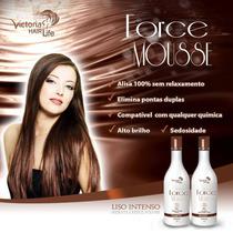 Kit Progressiva Victoria Hair Life Force Cacau Mousse