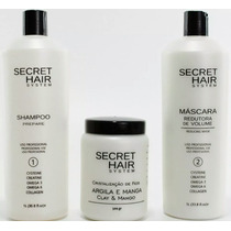 Kit Escova Progressiva Secret Hair System