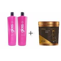 Kit Fox Gloss + Botox Ultra Fox Gloss + 1 Brinde Especial