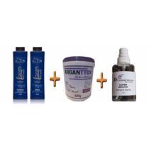Semi Definitiva Loiras Blonde + Botox Matizador + Óleo