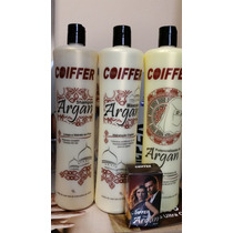 Kit Profissional Progressiva Argan Coiffer+brinde Óleo Argan