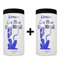 Kit 2 Selantes Matizadores Cat Blue 1kg + + Frete/brinde