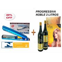 Kit Noble Beauty Progressiva 2x1 + Chapinha Profissional