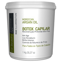 For Beauty Reconstrução Profunda Argan Oil Liso Selagem 1kg