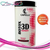 Botox 3d Infinity Capelli 1kg + Frete