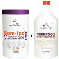 Bo-tox Matizador + Shampoo New Liss 1kg