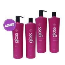 Fox Gloss Escova Progressiva Semi Definitiva 4x1 Litro