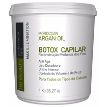 Alisamento Capilar For Beauty Max Illumination 1kg