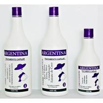 Escova Progressiva Argentina Tratamento Capilar (3 Produtos)