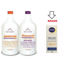 Escova Inteligente Semi Definitiva New Liss Hair +brinde