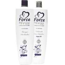 Escova Progressiva Kit Force De Frizz 1000 Ml (lançamento)