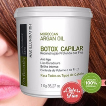 Btox For Beauty Max Illumination 1kg Com Oleo De Argan