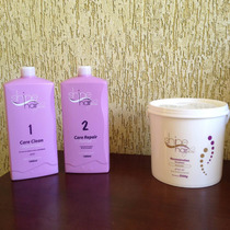 Kit Escova Progressiva Shine Hair Plus 1l+mascara 2,5kg