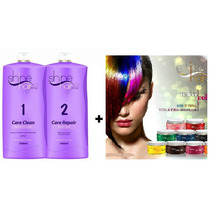 Escova Shine Hair + Brinde Mascara Tonalizante Relive Colors