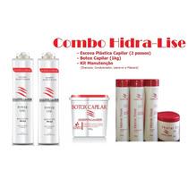 Combo Hidra Lise - Escova Btox E Kit Manutenção Frete Gratis