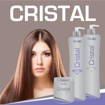 Escova Cristal 2 Litros Do Ativo + Máscara Hidratação Grátis